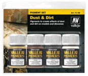 Vallejo Dust & Dirt Pigment Powder Set