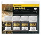 Vallejo Dust & Dirt Pigment Powder Set