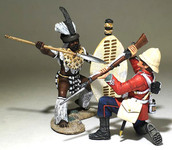 Wm. Britain - No You Dont! - Zulu and 24th Foot Hand to Hand