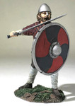 Wm. Britain Saxon Pushing With Shield (Hereward)