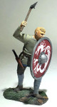 Wm. Britain Viking Pushing with Shield (Gostav)