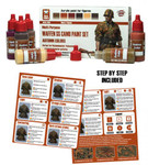 Andrea Miniatures - Waffen SS Camo Paint Set (autumn colors)
