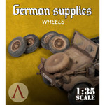 Scale 75 - German Supplies - Wheels Kubelwagen AK
