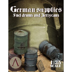Scale 75 - German Supplies - Fuel Drums and Jerrycans