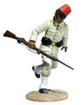 Wm. Britain - Egyptian Infantryman Running Looking Back