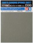 "Tamiya - Sanding Sponge Sheet 4.5""x5.5"" (5mm thick) 1500 Grit - SALE"