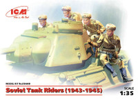 ICM Models Soviet Tank Riders (1943-1945)