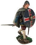"Wm. Britain ""Kenway"" Saxon Advancing with Sword"