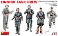Miniart Models Finnish Tank Crew