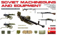 Miniart Models Soviet Machine Guns & Equipment
