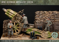 Model Cellar - WW1 German Artillery Crew