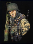 Young Miniatures - German Waffen SS with Panzerschreck