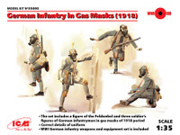 ICM Models German Infantry in Gas Masks