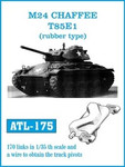 Friulmodell M24 Chaffee T85E1 (Rubber-Type) Track Set
