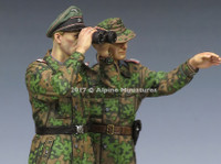 Alpine Miniatures - Waffen SS Panzer Officers, Kursk Set