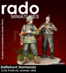 "Rado Miniatures - 12th SS Panzer Division ""HJ"", Summer, 1944 - Set"