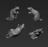 Jon Smith Modellbau - Trench Rat Set - 1/32-1/35 Scale
