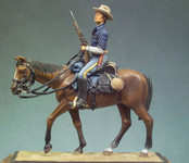 Andrea Miniatures: The Golden West - U.S. Cavalryman on the Trail,  1880