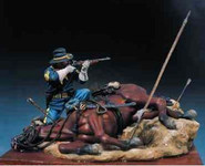 Andrea Miniatures: The Golden West - Shot Down, 1876