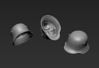 Jon Smith Modellbau - German Steel Helmet M16 (Special Edition Version)