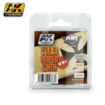 AK Interactive: Air Series - Clear Doped Linen WWI Planes Acrylic Paint Set