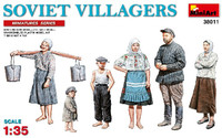 Miniart Models - Soviet Villagers (New Tool)