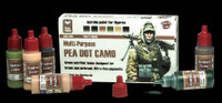 Andrea Miniatures - Pea Dot Camo Paint Set