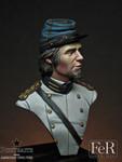 FER Miniatures - Second Lieutenant, Confederate States Marine Corps, 1862
