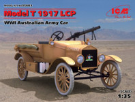 ICM Models - WWI Australian LCP Model T Army Car, 1917