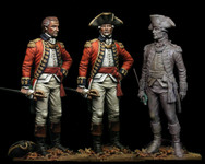 Best Soldiers - The English Officer -The American Revolutionary War
