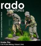 Rado Miniatures - Under fire, 5.SS-Pz.Div. Wiking, Poland 1944 #1 & #2 Set
