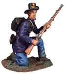 Wm. Britain: American Civil War - Iron Brigade, Kneeling Defending No.2