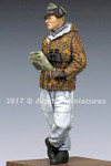 Alpine Miniatures - WSS Panzer Commander, Winter
