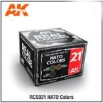 AK Interactive: Real Color - NATO Color Set