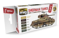 Ammo of MiG - WWII Commonwealth Sherman Tanks