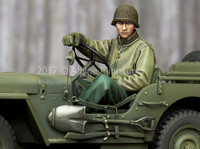 Alpine Miniatures - WW2 US Jeep Driver