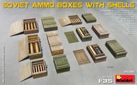 Miniart - Soviet Ammo Boxes w/Shells