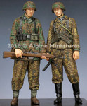 Alpine Miniatures WSS Grenadiers 1944 - 1945