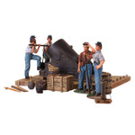 Wm. Britain - American Civil War 13 Inch Mortar and 4 Man Crew