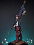 FeR Miniatures - Lieutenant, 1st Zouave Regt