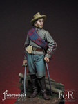 FeR Miniatures: Faherenheit Miniature Project - Confederate Artillery Officer, Gettysburg, 1863