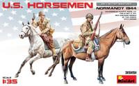 Miniart Models - US Horsemen Normandy 1944 (2 Mtd)