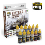 Ammo of MiG - PANTHER-G Colors Set for Interior and Exterior Set