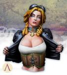 Scale 75: Naughty Gears - Sarah Kilmister Bust