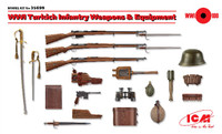 ICM Models - WWI Turkish Infantry Weapons & Equipment