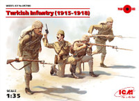 ICM Models - WWI Turkish Infantry, 1915-1918