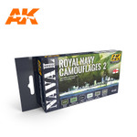 AK Interactive - Royal Navy Camouflages 2 - Naval Series Set
