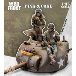 Scale 75 - Tank Turret & Coke w/2 Figures