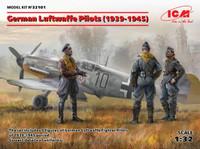 ICM Models - WWII German Luftwaffe Pilots 1939-1945