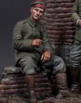 Model Cellar - WWI German, Seated